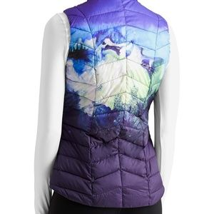 ATHLETA Womens Altitude Down Feather Vest M Medium